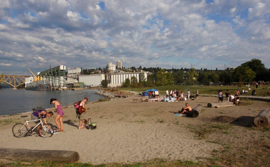 New Brighton Park Beach