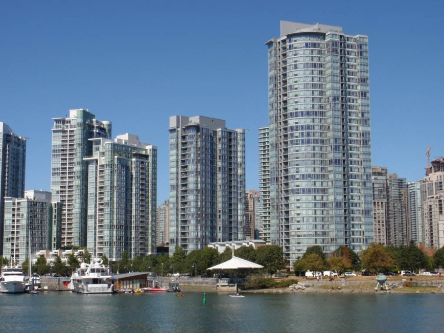 False Creek Towers from Cambie