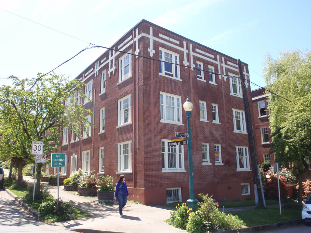 Garden Courtyard Apartment Buildings And Proposed Norquay Zoning