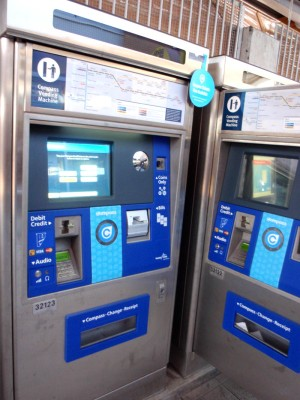 Compass Card vending machine