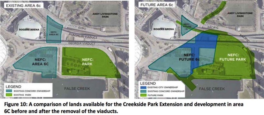 creekside park reconfigured