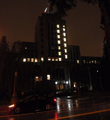 Lights out at City Hall