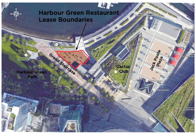 Harbour Green Restaurant Lease Boundaries 2006