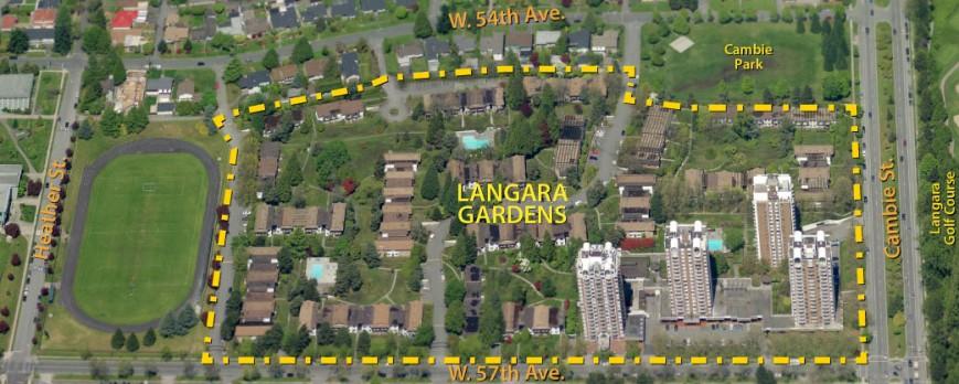 langara gardens cov study area