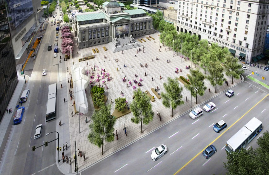 Robson Square Overview