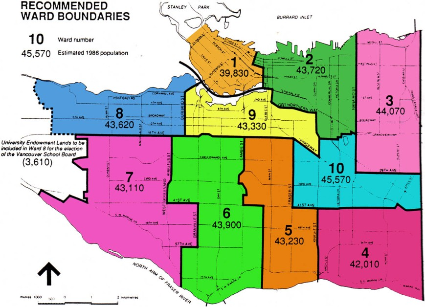 1988 Recommended Ward Boundaries