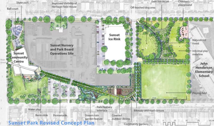 Sunset Park Revised Plan