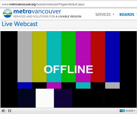 metrovan 'live' broadcast