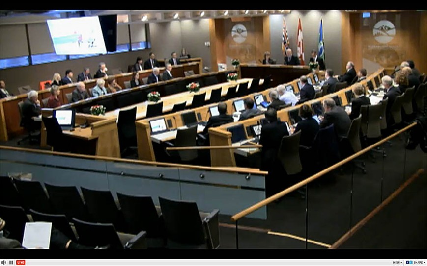 Metro Vancouver Board livefeed