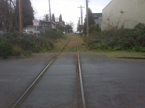 Arbutus CP Rail line work 11-Jan-2016 (18)