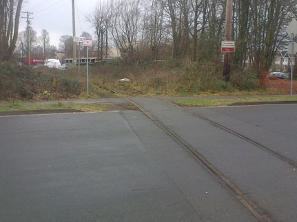 Arbutus CP Rail line work 11-Jan-2016 (5)
