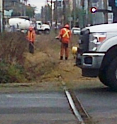 Arbutus CP Rail line work 11-Jan-2016 (8) expanded
