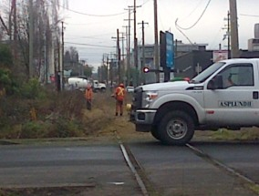 Arbutus CP Rail line work 11-Jan-2016 (8)
