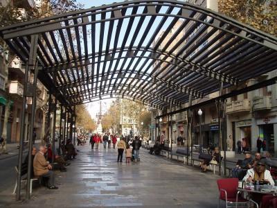 Barcelona Avinguda de Gaudí