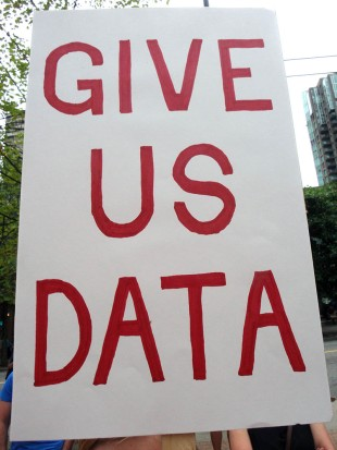 Give Us Data #donthave1million