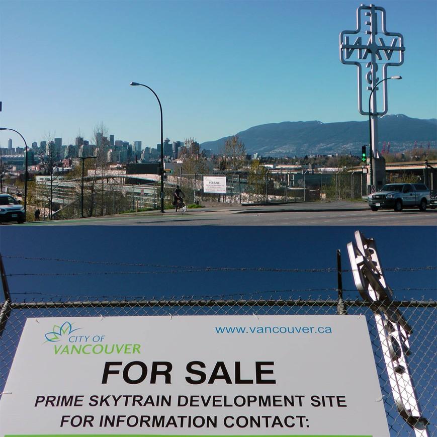 "City-owned Lot Beside ""EastVan"" Cross Is For Sale, Even"