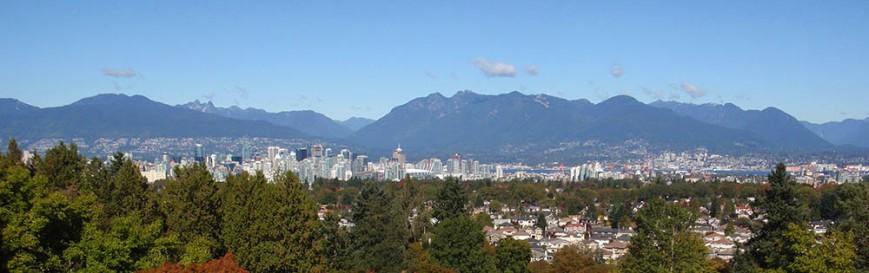 QE Park View Vancouver skyline north shore