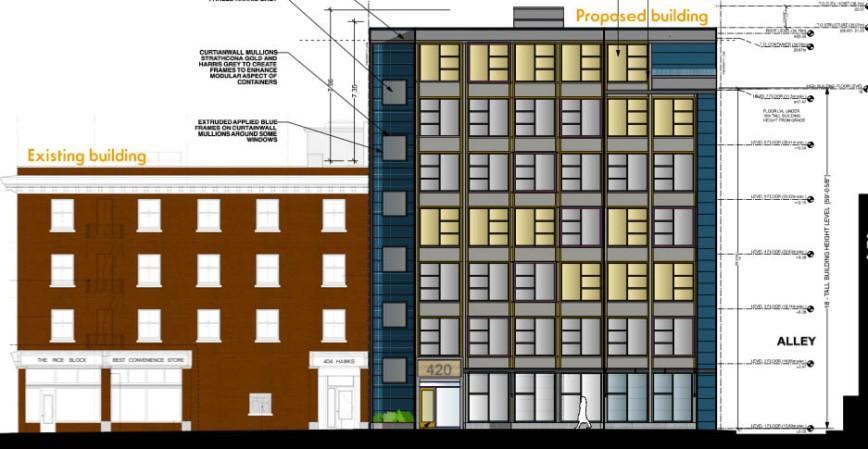 420 Hawks Avenue rezoning
