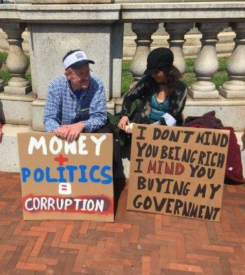 big money buying government