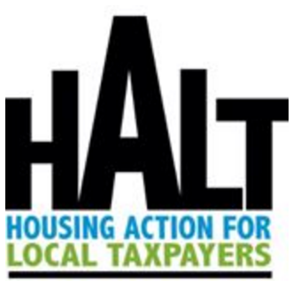 HALT logo Housing Action for Local Taxpayers