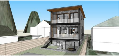 Lanefab passive house design
