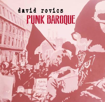 Davic Rovics Punk Baroque tour 2017