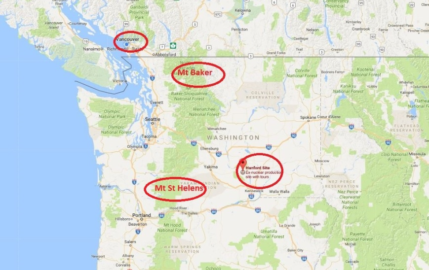 Hanford nuclear site vs Vancouver