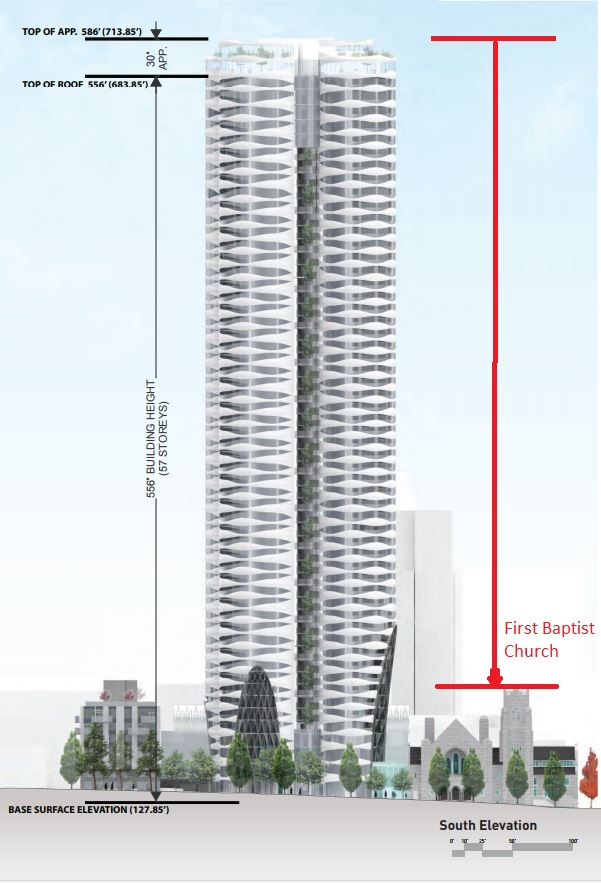 969 Burrard First Baptist Westbank, elevations, application 2017 rev