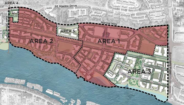 east fraser lands area map COV