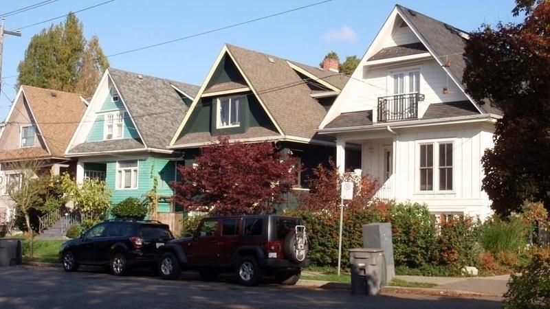 Grandview Woodland houses, credit GWAC