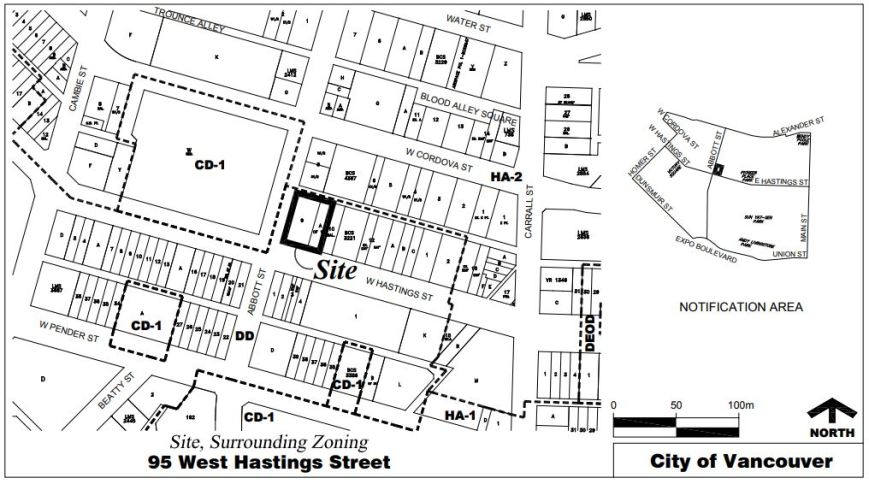 95 West Hastings Holborn proposed site, hearing 13-Mar-2018