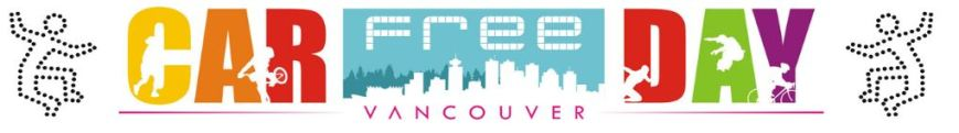 Car Free Day Vancouver 2018 logo