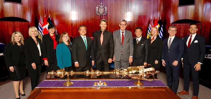 CoV mayor city council July 2018