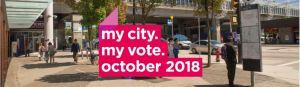 CoV my city my vote election Oct 2018 image