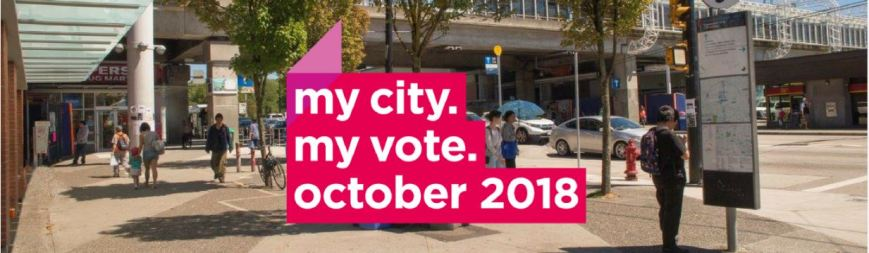 CoV my city my vote election Oct 2018 image