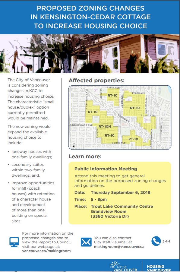 CoV RT-10 Kensington Cedar Cottage info mtg 6-Sep-2018