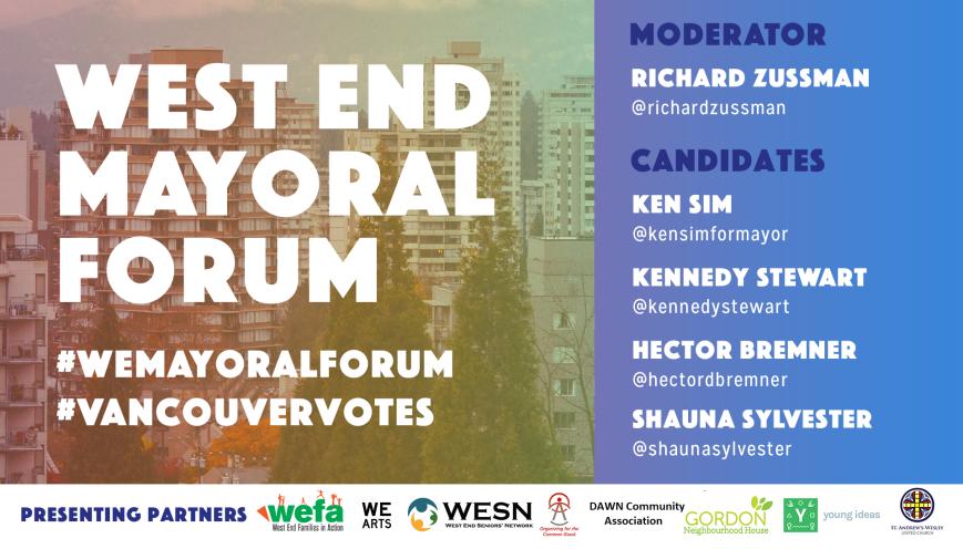 WE Mayoral Forum 2018