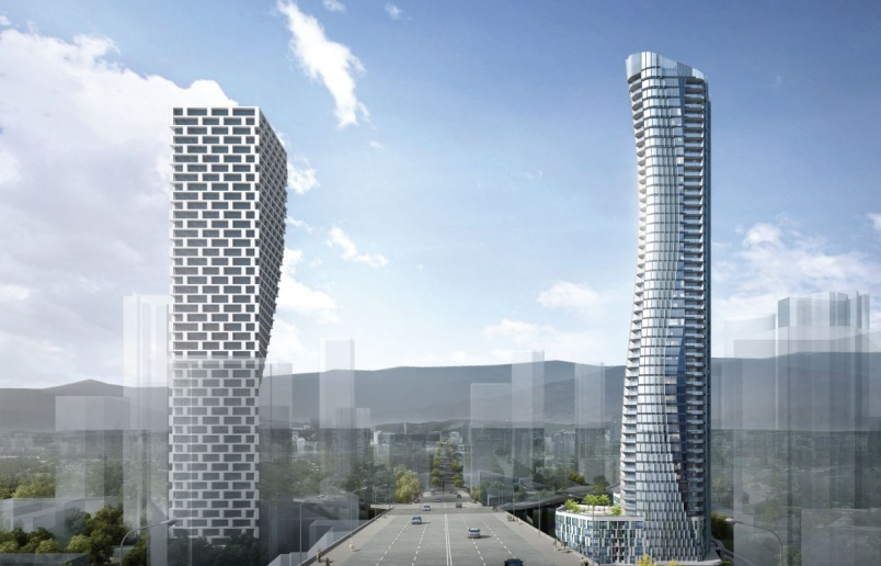 Rendering granville gateway bldgs credit gbl architects