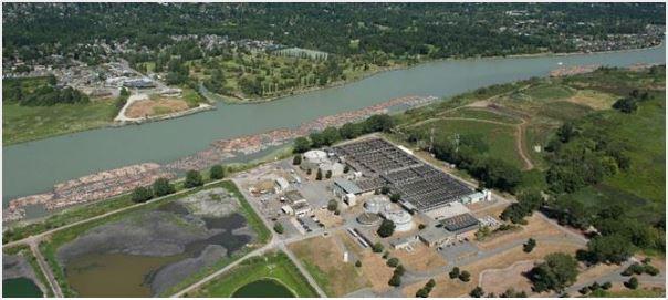 Iona Island Wastewater Treatment Plant, GSA 2020