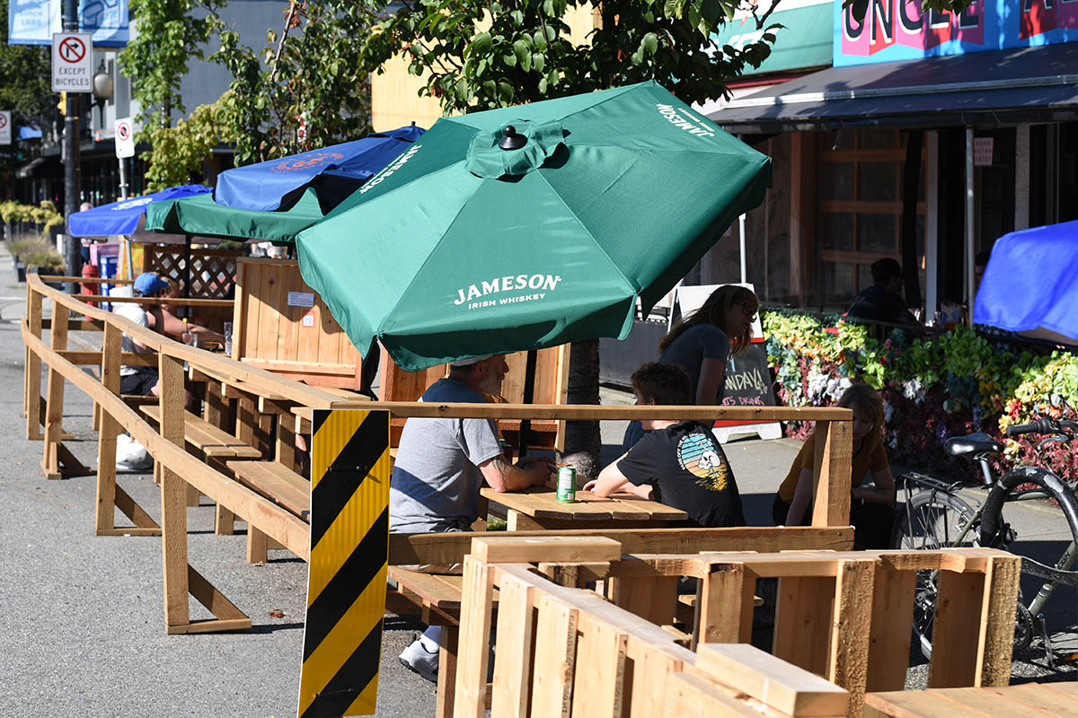 Outdoor Patios Are Multiplying In Vancouver Cityhallwatch Tools To Engage In Vancouver City Decisions