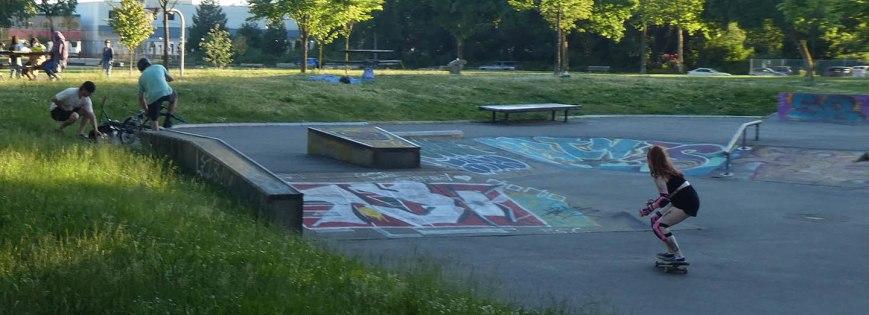 Skateboard Park Strathcona